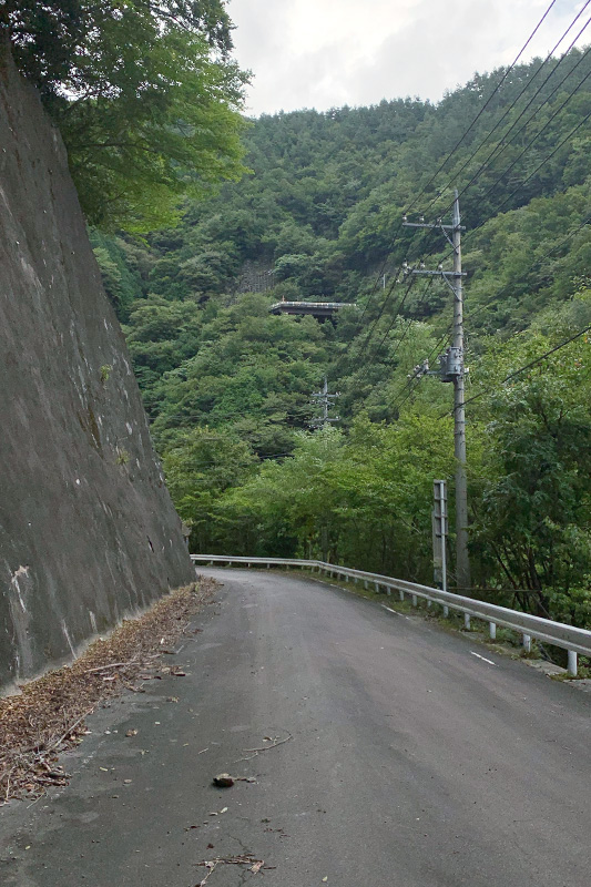 (飽きずに)松姫峠から葛野川ダムへ 2020年9月13日_d0123571_20435334.jpg