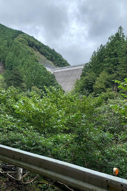 (飽きずに)松姫峠から葛野川ダムへ 2020年9月13日_d0123571_2044597.jpg