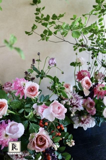 「季節のお花便り」9月 アレンジバージョン _c0128489_20252221.jpeg