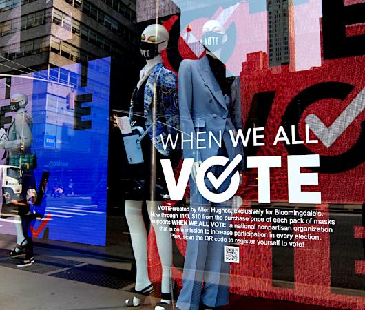 「選挙に行こう」と呼びかけるNPOのお洒落でユニークな寄付集め_b0007805_06153242.jpg