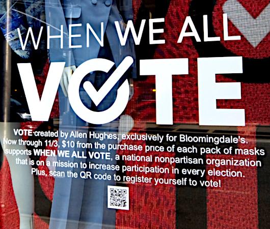 「選挙に行こう」と呼びかけるNPOのお洒落でユニークな寄付集め_b0007805_06165225.jpg
