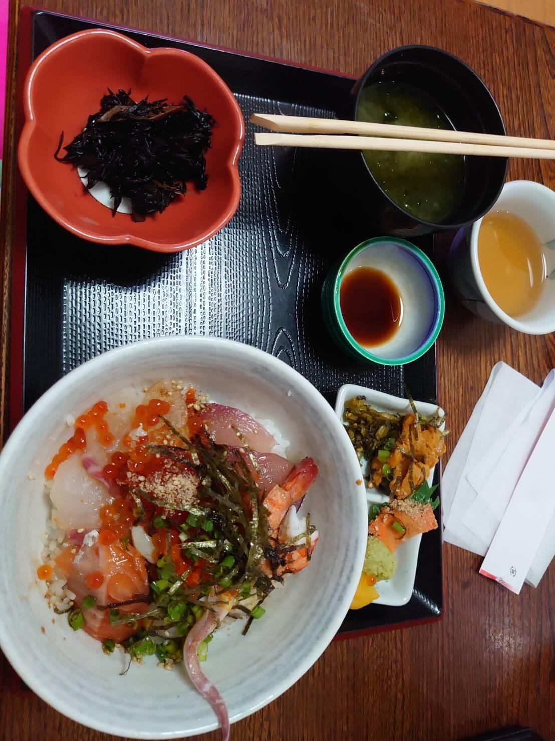 天草に海鮮丼を食べに行ってきました。_e0184224_11472707.jpg