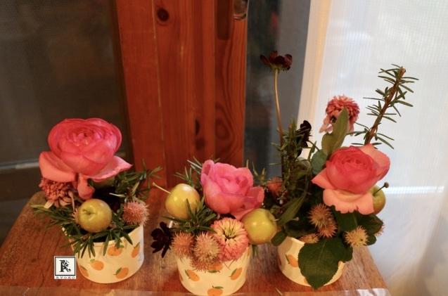 「小さな花器」をつくっています & 秋のお花をいける_c0128489_17510813.jpeg