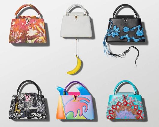 100万円ほどするルイ・ヴィトンの「アーティーカプシーヌ」バッグを引き立てるのは、魚(さんま?)_b0007805_02064545.jpg