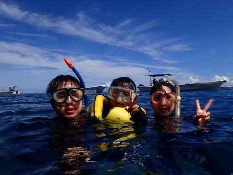 9月18日水納島ファンダイブからファミリースノーケルまで_c0070933_21133550.jpg