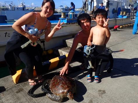 9月18日水納島ファンダイブからファミリースノーケルまで_c0070933_21140627.jpg