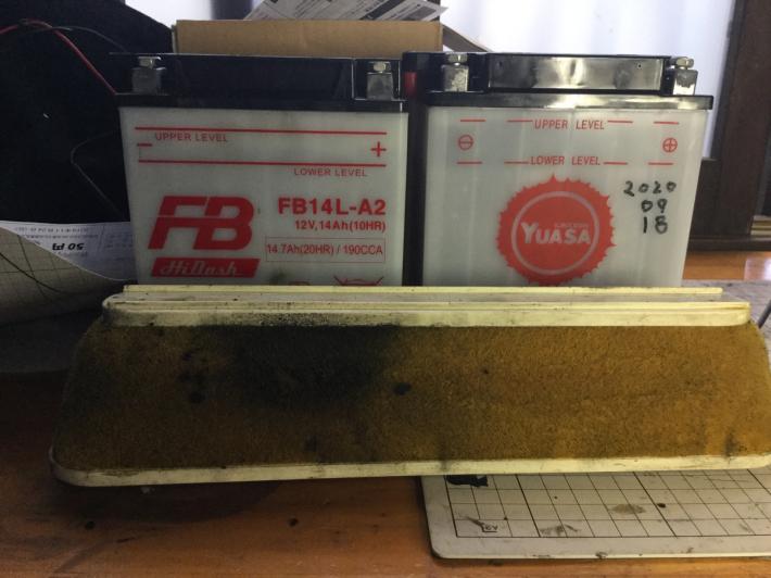 GPZ900R Ninjaぁの整備記録でござるよニンニン_d0067943_16155533.jpg