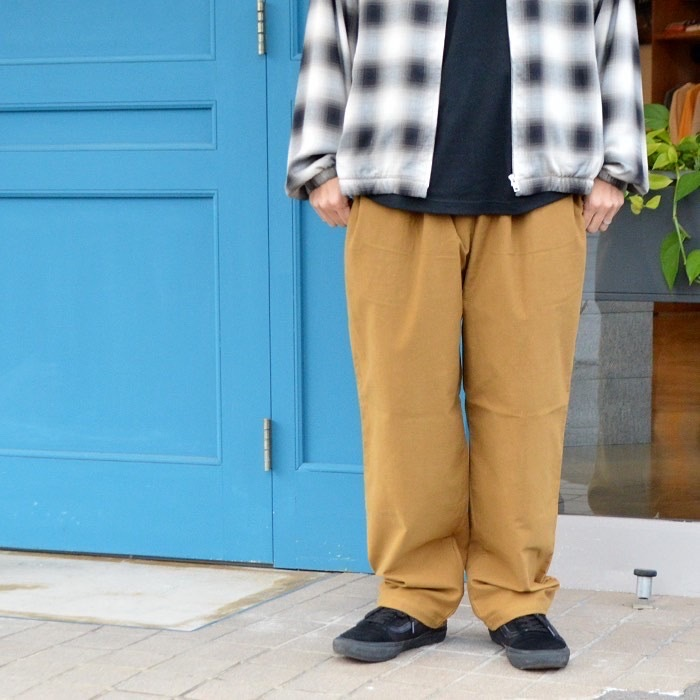 """RADIALL \""""MUSCLE SHOALS - STRAIGHT FIT EASY PANTS\""""_f0097559_11385882.jpg"""