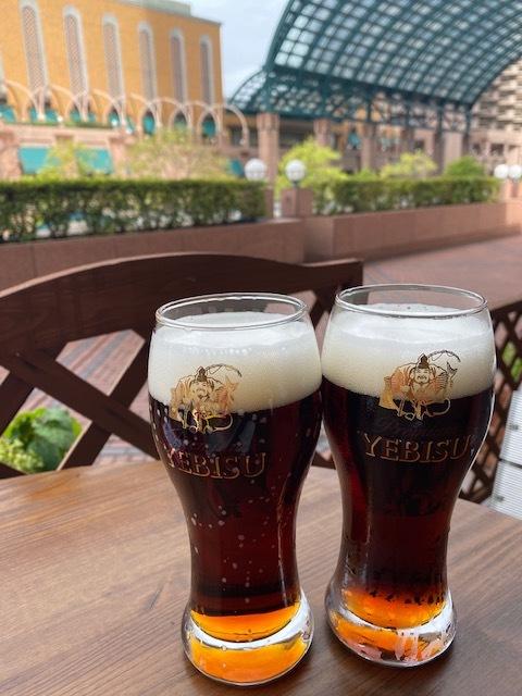 beer station @恵比寿    再びテラス席で♪_a0165160_10525427.jpg