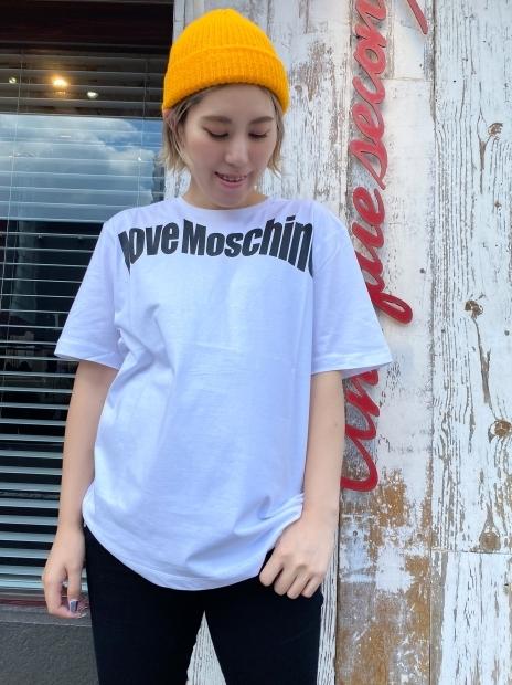 「LOVE MOSCHINO ラブモスキーノ」新作Tシャツ入荷です。_c0204280_16402393.jpg