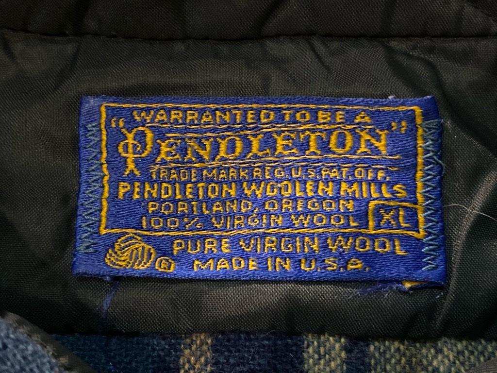マグネッツ神戸店 9/19(土)冬Superior入荷! #5 Pendleton Shirt ,TopSter Jacket!!!_c0078587_12513217.jpg