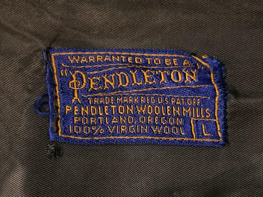 マグネッツ神戸店 9/19(土)冬Superior入荷! #5 Pendleton Shirt ,TopSter Jacket!!!_c0078587_12554532.jpg
