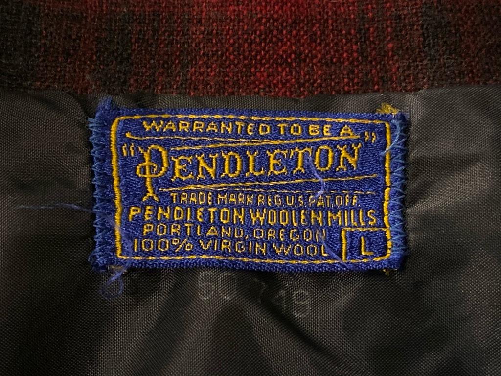 マグネッツ神戸店 9/19(土)冬Superior入荷! #5 Pendleton Shirt ,TopSter Jacket!!!_c0078587_12563051.jpg