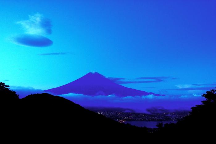 令和2年9月の富士(3) 御坂峠夜明けの富士_e0344396_15202181.jpg