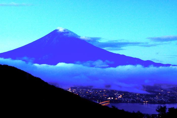 令和2年9月の富士(3) 御坂峠夜明けの富士_e0344396_15202231.jpg