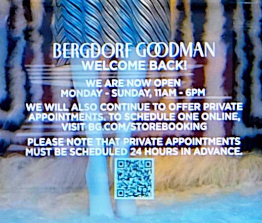 コロナ禍でも素晴らしい、NYを代表する高級デパート、バーグドルフ・グッドマンのショウウィンドウ_b0007805_01594890.jpg