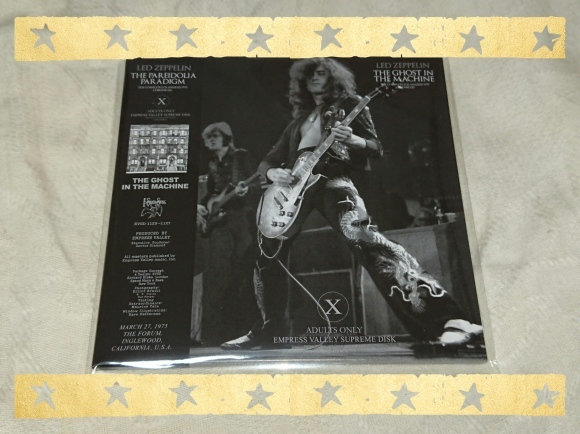 LED ZEPPELIN / THE GHOST IN THE MACHINE_b0042308_17031036.jpg