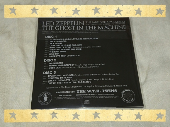 LED ZEPPELIN / THE GHOST IN THE MACHINE_b0042308_17031359.jpg
