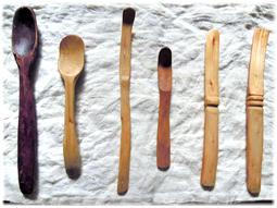 匙、ヘラ、スプーン、木の道具をつくる。_d0221430_22161901.jpg