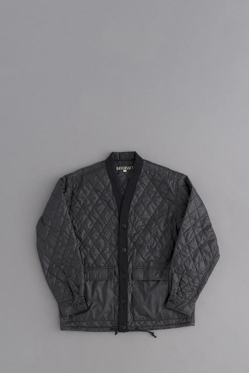HAVERSACK Quilting Cardigan Jacket (Black)_d0120442_12462064.jpg