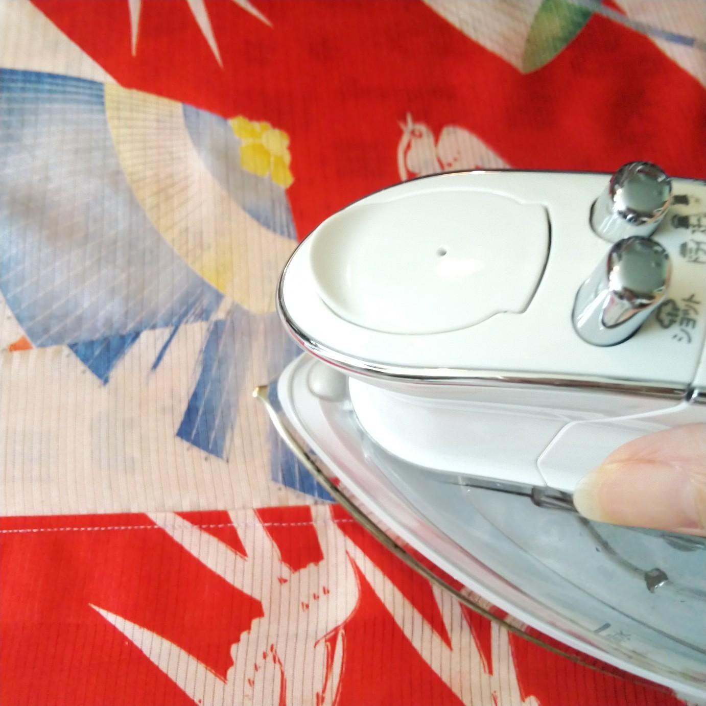 200919 アンティーク絽長襦袢の襟交換と手洗い_f0164842_15204193.jpg