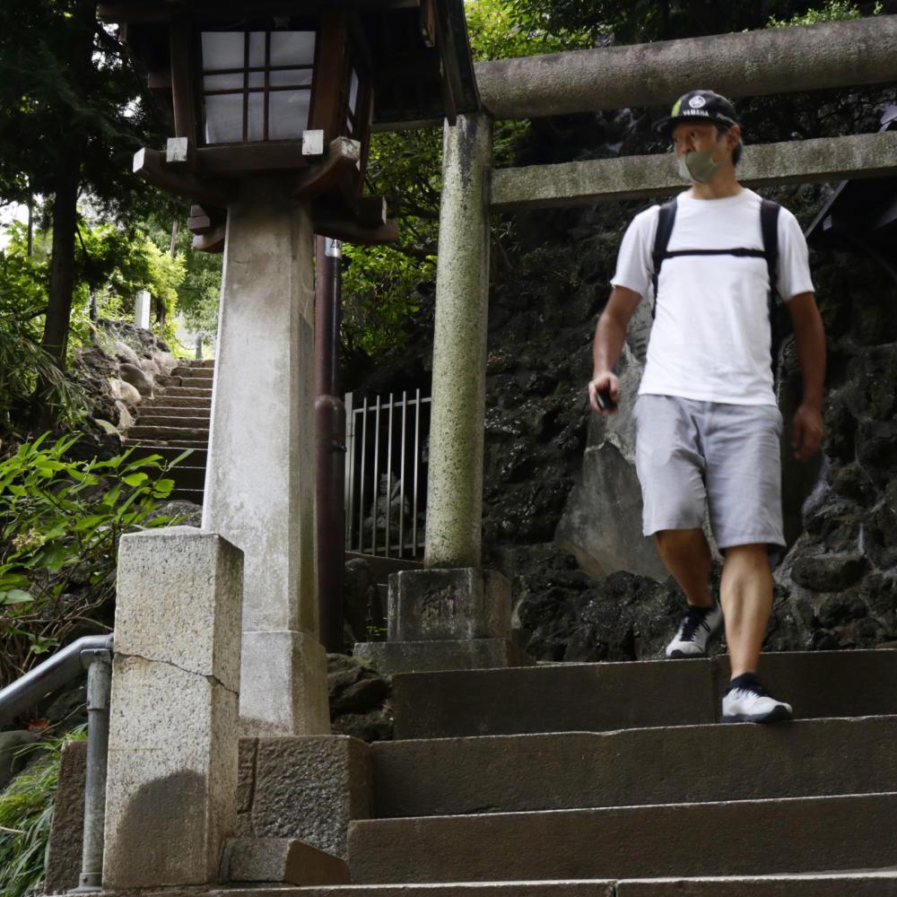 品川で富士登山!今回は街歩きの下見に_c0060143_17502970.jpg