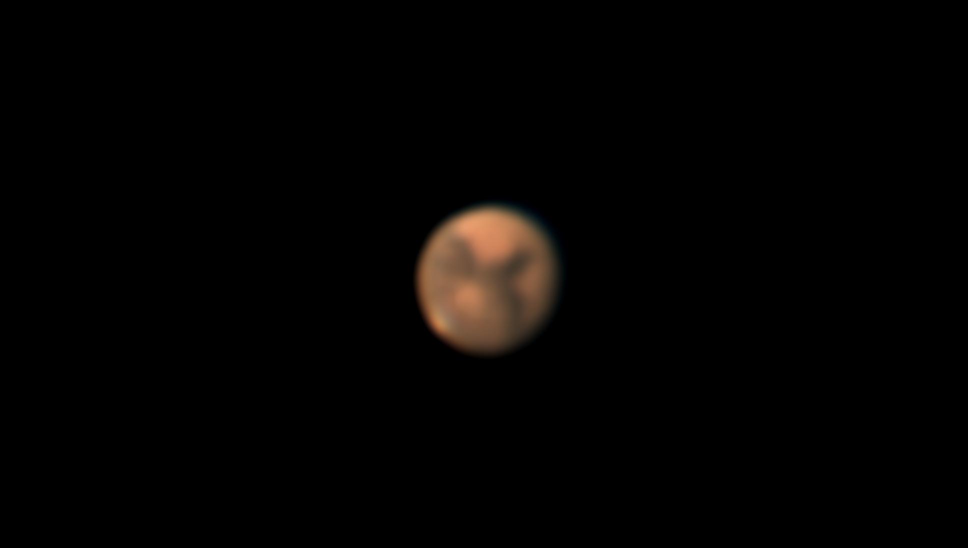 慣れない撮影、火星にチャレンジ・・・_b0100253_15375390.jpg