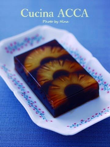 パイナップル入りの「黒糖かん」_f0245680_19413417.jpg