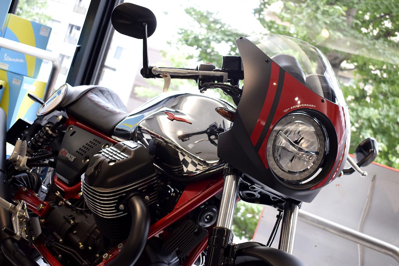MOTO GUZZI V7 III Racer 10th ANNIVERSARY 入荷!_d0099181_10520377.jpg