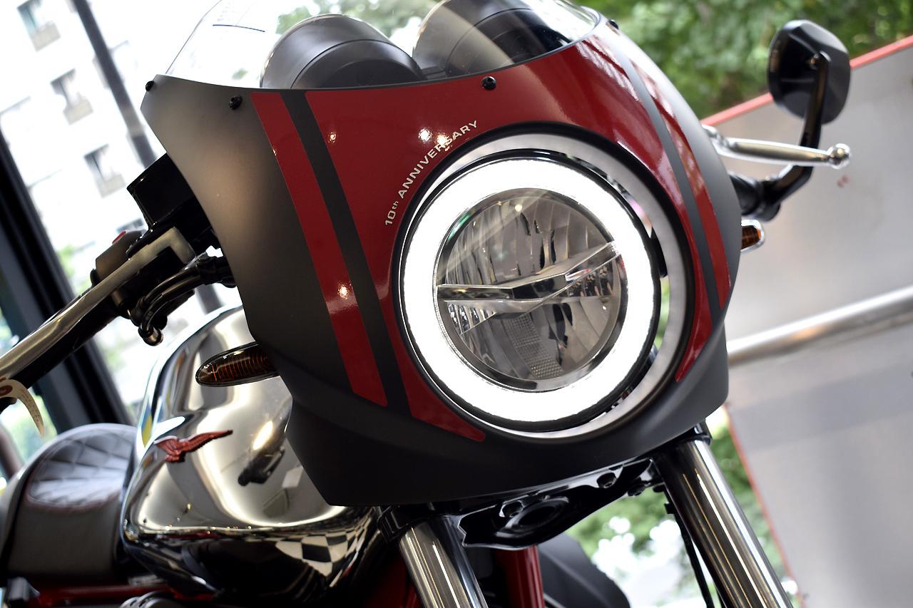 MOTO GUZZI V7 III Racer 10th ANNIVERSARY 入荷!_d0099181_10594852.jpg