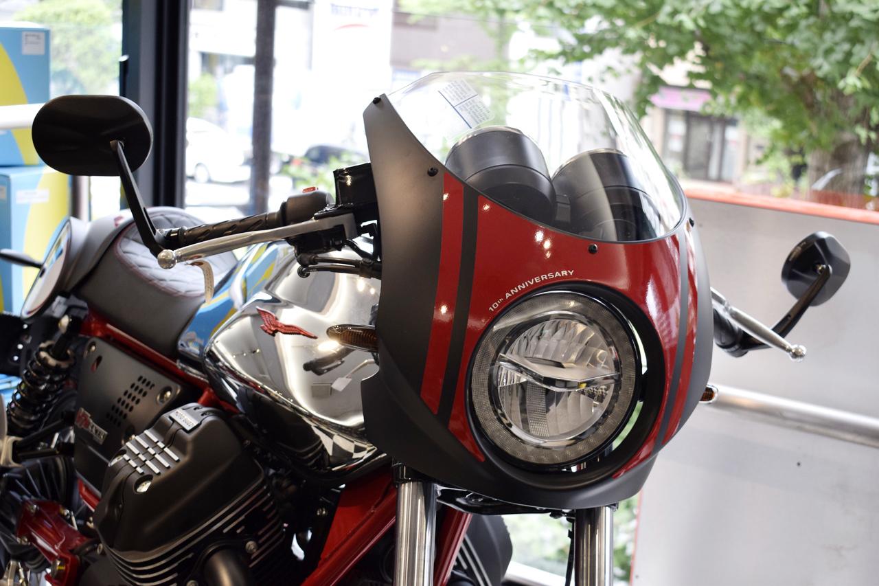 MOTO GUZZI V7 III Racer 10th ANNIVERSARY 入荷!_d0099181_10595037.jpg