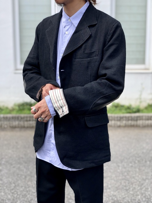 COMME des GARCONS - tailored collar jacket Style._c0079892_1921185.jpg