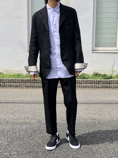 COMME des GARCONS - tailored collar jacket Style._c0079892_1922251.jpg