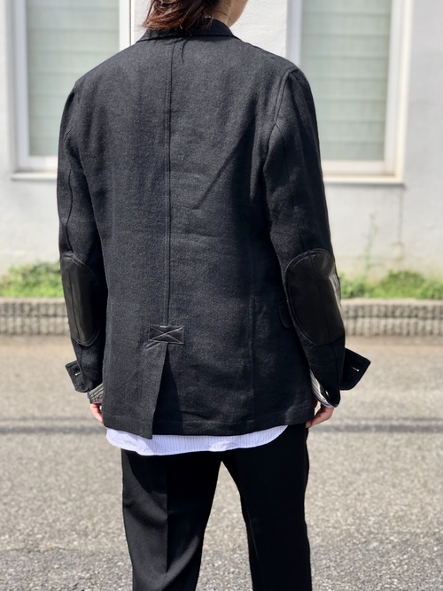 COMME des GARCONS - tailored collar jacket Style._c0079892_1923251.jpg
