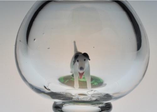 スティーブン&ウイリアムス 犬、芝生入り ゴブレット_c0108595_00144304.jpeg