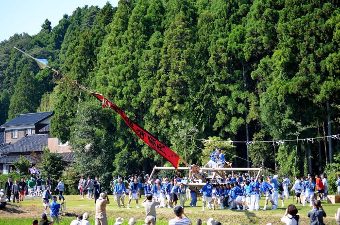 熊甲二十日祭の枠旗行事2013 その2_f0374895_22122407.jpg