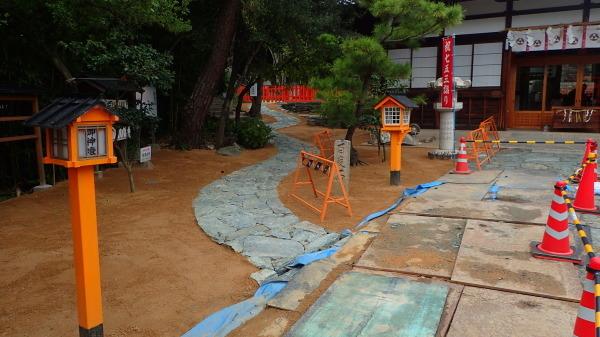 玉津島神社 整備中_c0367107_12323868.jpg
