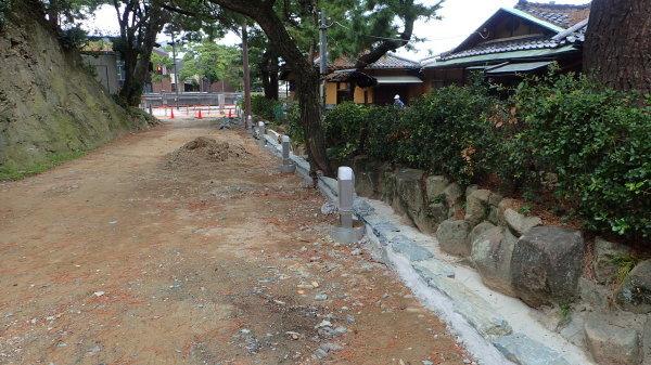 玉津島神社 整備中_c0367107_12324055.jpg