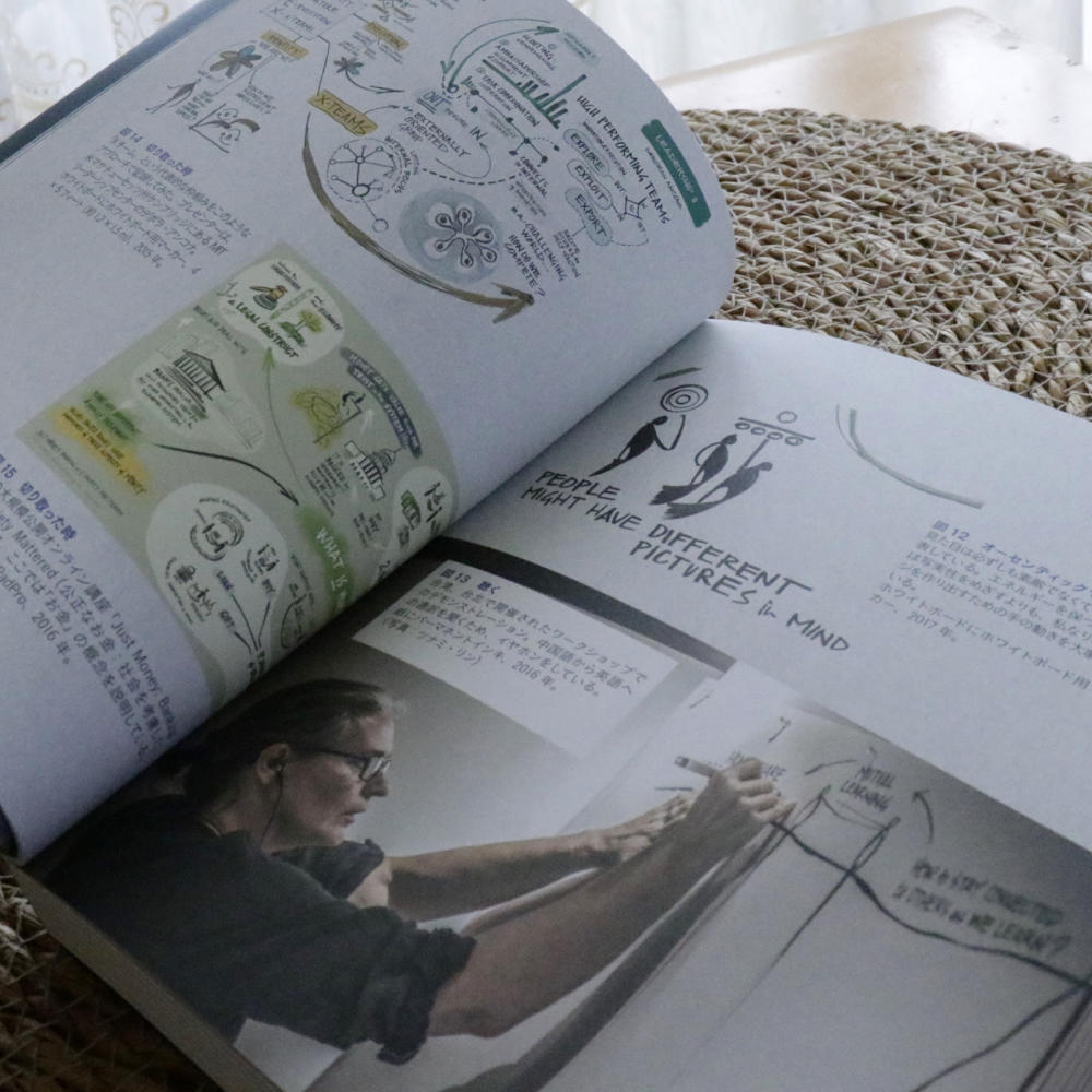 【PR】『場から未来を描き出す』を読んでスクライビングを学ぶ_c0060143_13531913.jpg