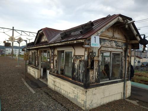 109年目の近文駅ホーム待合室_a0275468_23425869.jpg