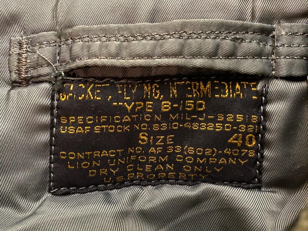 9月23日(水)マグネッツ大阪店冬物Vintage入荷日!! #1 U.S.AirForce編!!B-15D,B-15D NOD,MA-1,N-3B&N-2A!!_c0078587_21564488.jpg