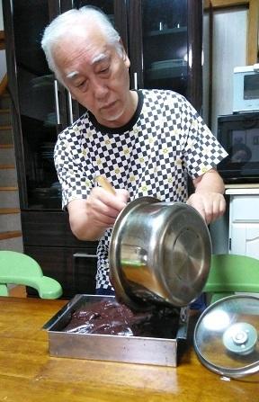 オットの料理_b0266191_15124447.jpg