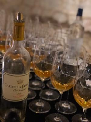 Bordeaux France september 2019 ⑨Sauternes chateau de Fargues タパスランチ_a0036499_08522079.jpg