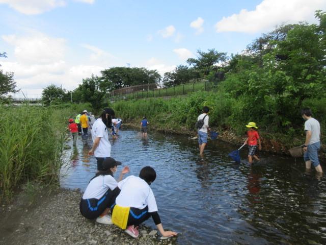 富士見町こどもサロン 空堀川で釣り!の支援をしました!_a0258102_21243357.jpg