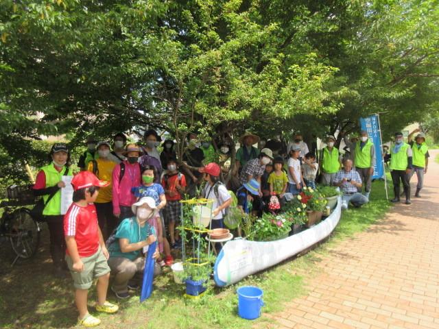 富士見町こどもサロン 空堀川で釣り!の支援をしました!_a0258102_21424676.jpg