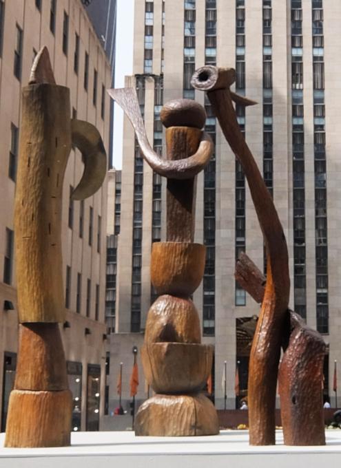 第二回フリーズ・スカルプチャー・アット・ロックフェラー・センター(Frieze Sculpture at Rockefeller Center)_b0007805_06312398.jpg