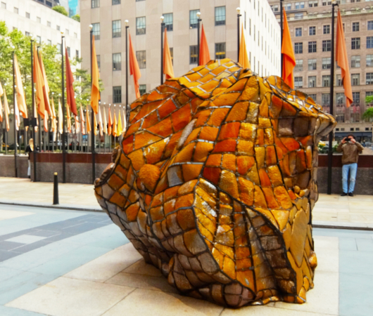 第二回フリーズ・スカルプチャー・アット・ロックフェラー・センター(Frieze Sculpture at Rockefeller Center)_b0007805_06425148.jpg