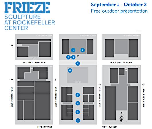 第二回フリーズ・スカルプチャー・アット・ロックフェラー・センター(Frieze Sculpture at Rockefeller Center)_b0007805_06481746.jpg