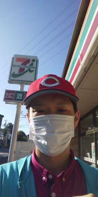 本日も誰もしないアベノマスクよりコンビニのマスクで介護現場に出勤です!_e0094315_08264344.jpg