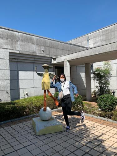 香月泰男美術館と角島大橋_d0025421_17074486.jpg